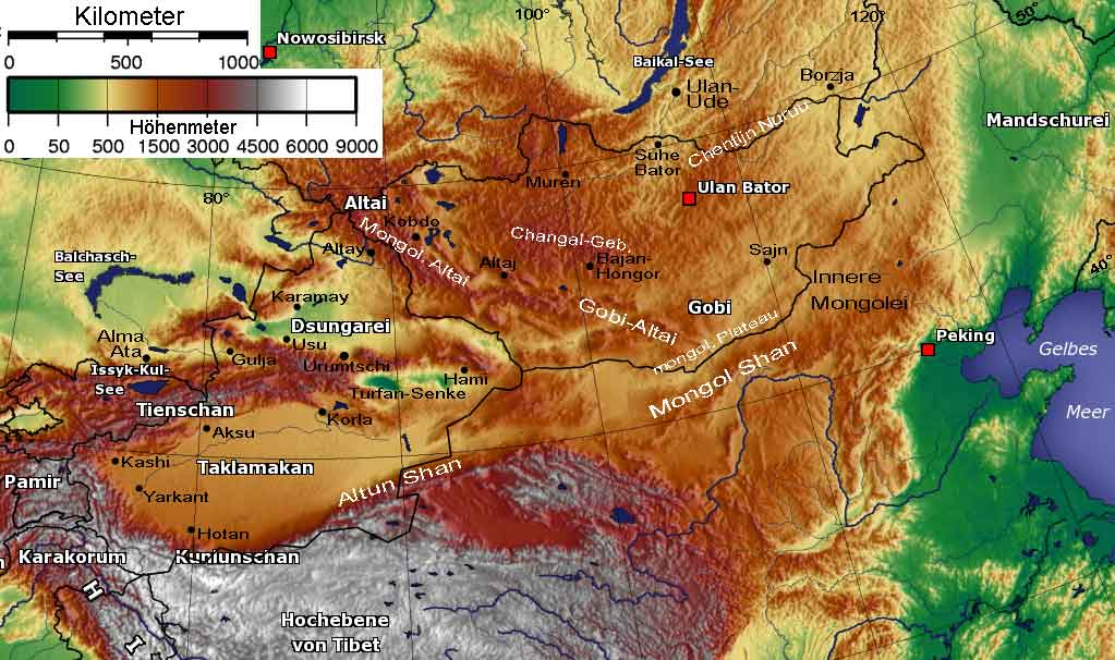 Kasachstan, Tianshan Gebirge, Alma Ata,  Apfelbaum-Urwald, Herkunft: Wikipedia