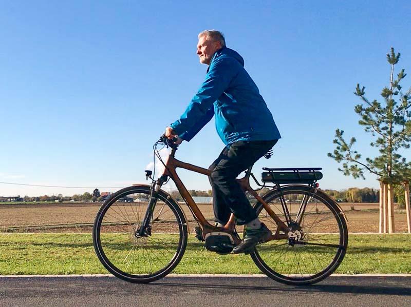 Klimatour Apfel Hans Rutar Probefahrt