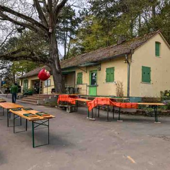MainÄppelHaus-Gartenlokal