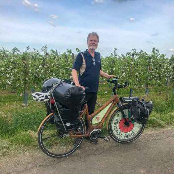 Klimatour Apfel Hans Rutar Apfelblüte